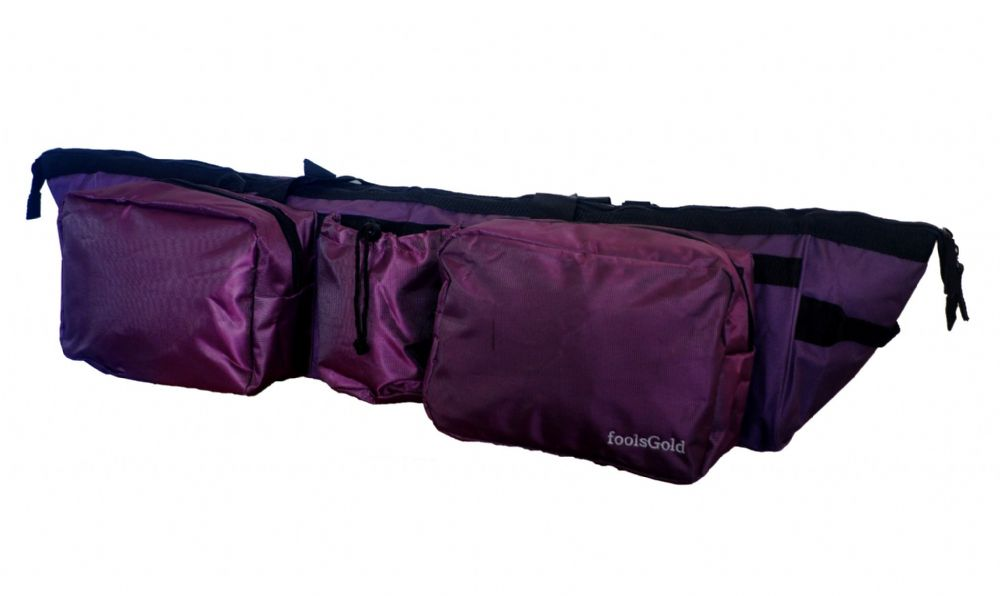 foolsGold Dual Yoga Mat Bag - Purple